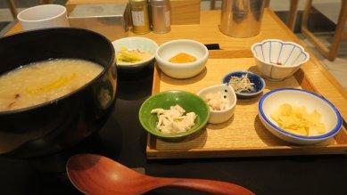 栗と鯛醤のお粥@980円