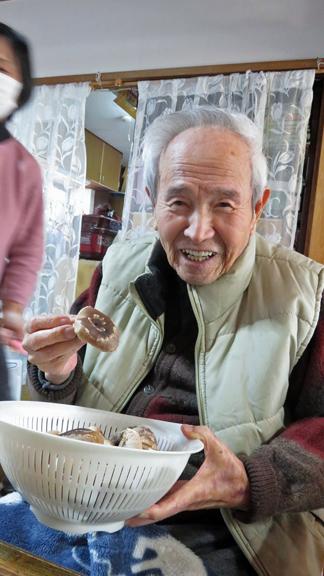 椎茸収穫9