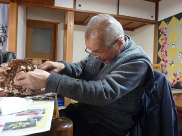 椎茸収穫6