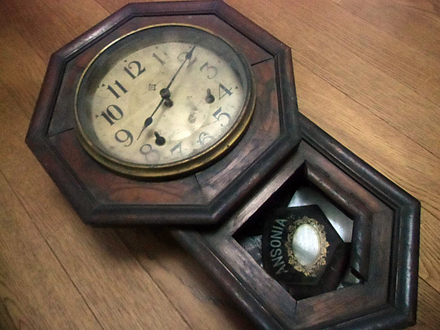 1-もらった柱時計