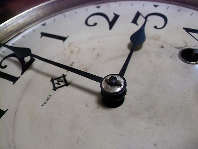 30-時報を確認して針を取り付け