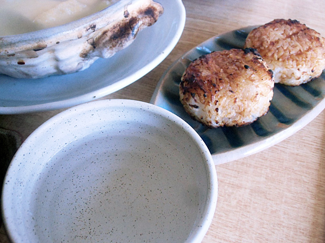 茶碗酒と焼き飯