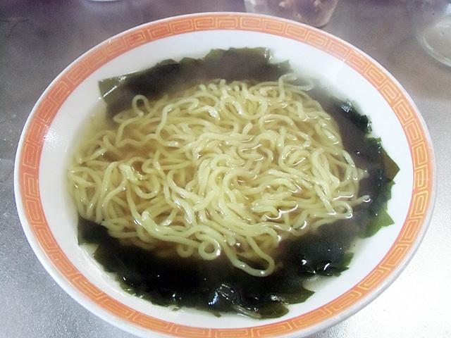 ゆでた中華麺
