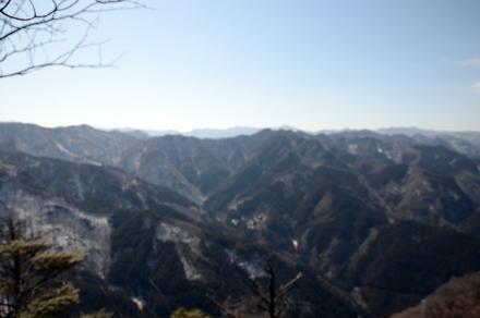 桧沢岳からの展望1