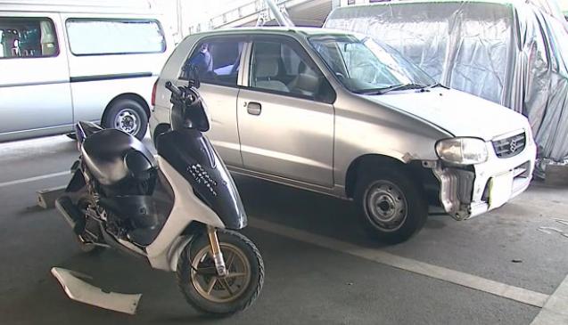 福山市 16歳バイクと衝突