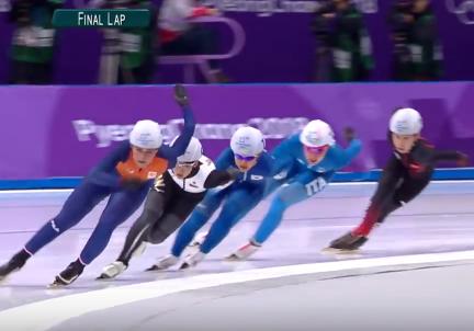 マススケート決勝 平昌オリンピック