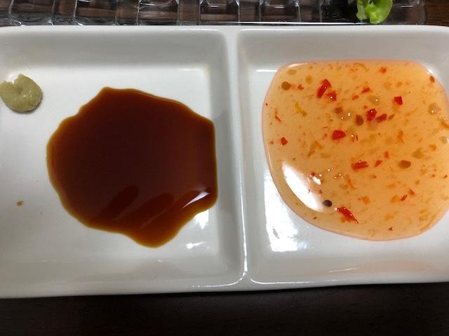 ソースと醤油