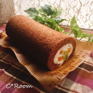 ケーキ(ロールケーキ)04