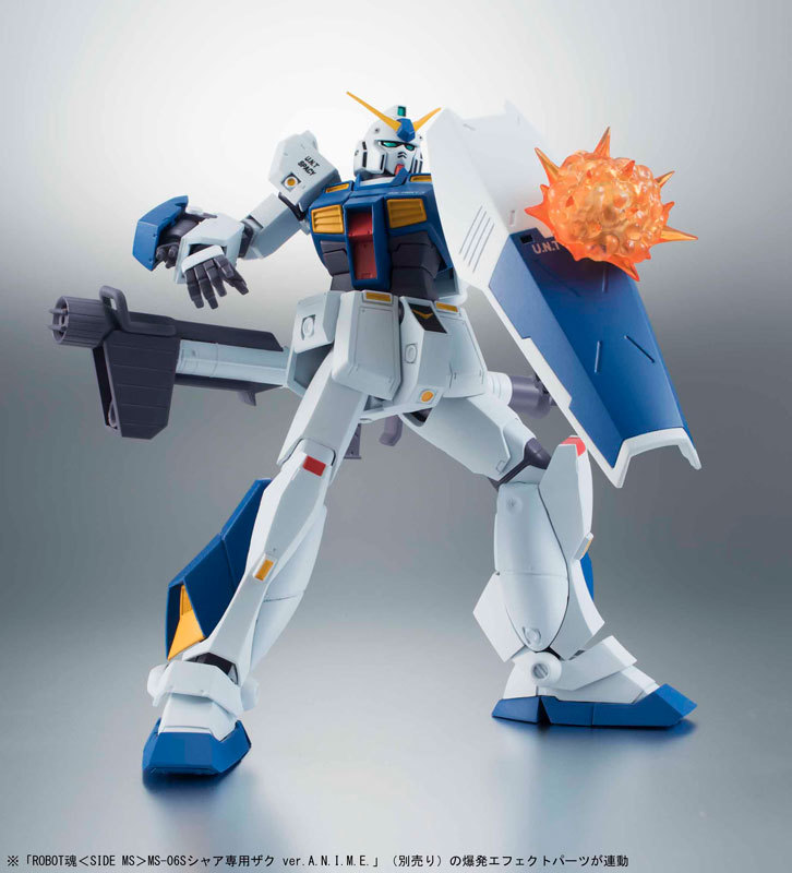 ROBOT魂 -ロボット魂-〈SIDE MS〉 RX-78NT-1 ガンダムNT-1FIGURE-035164_03