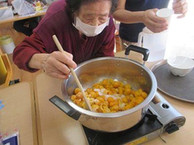20180317 戸田川 金柑の甘露煮を作りましたよー!2