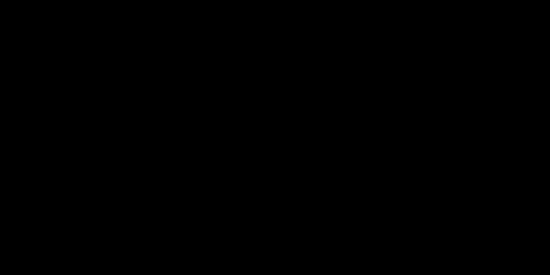 シンプル筆記体黒
