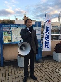 201801富士駅街頭