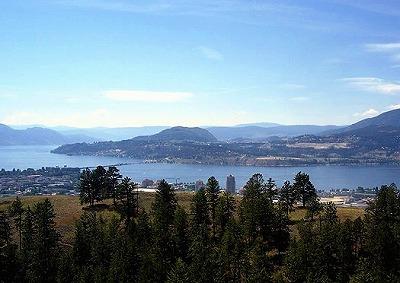 カナダ・オカナガン湖W
