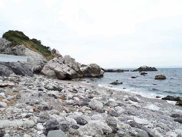 干潮の白崎海岸