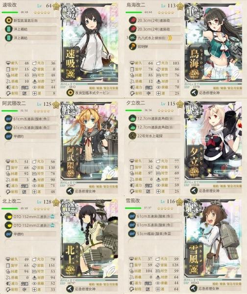 2018-E7-1ゲージ第二艦隊
