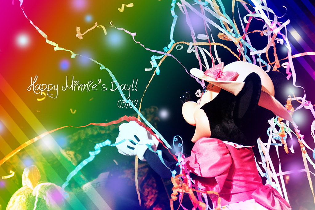 3月2日はミニーの日!!1