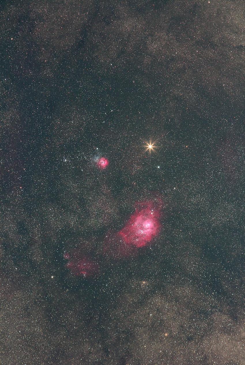 20180318火星とM8M20