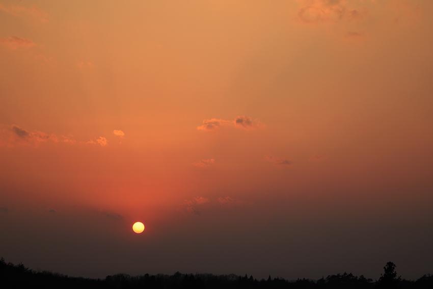 20180325夕陽