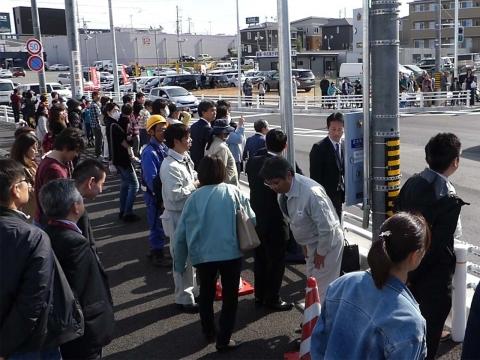 守山インター開通20180324(5)