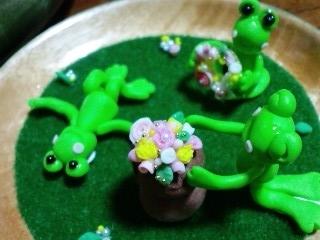 ウマモナド 花摘み