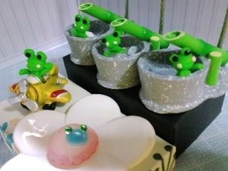 蛙 5つ アップ