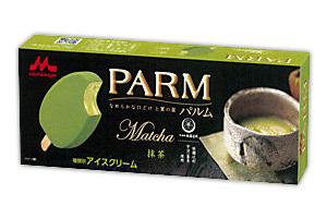 森永「PARM」ザ・抹茶味