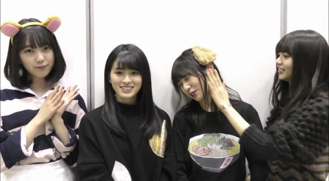 乃木坂46時間TV 与田祐希 博多ラーメンTシャツ