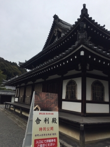 泉涌寺 舎利殿 とその界隈2018-5