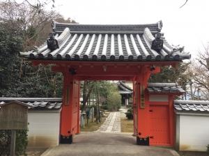 泉涌寺 舎利殿 とその界隈2018-7