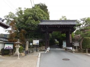 泉涌寺 舎利殿 とその界隈2018-9