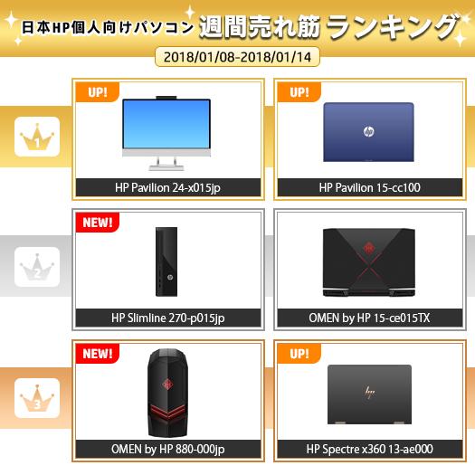 525_HPパソコン売れ筋ランキング_180114_01a