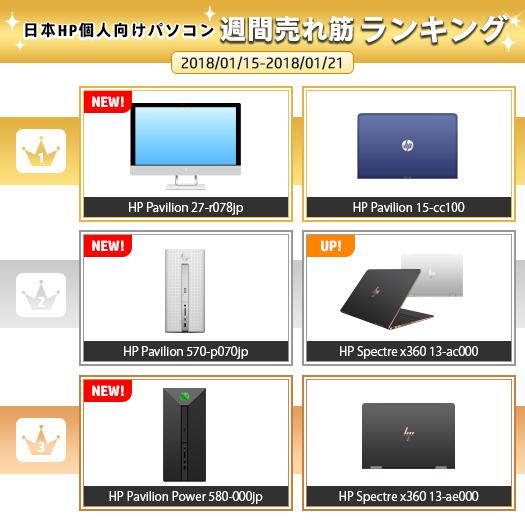 525_HPパソコン売れ筋ランキング_180121_01a