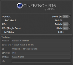 HP Pavilion 27-r079jp_CINEBENCH R15_1709_04t