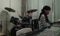 ピアノレッスン ドラム