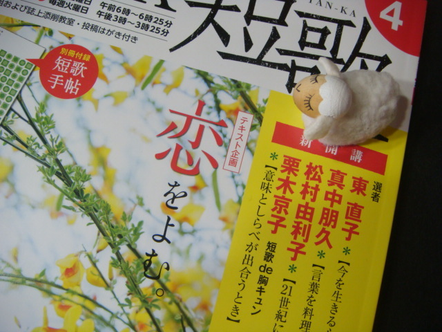 NHK短歌4月号