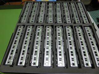 CASCO16両用ケースに収納した都営新宿線10-000形