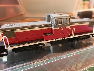 パーツ取付後の鹿島臨海鉄道KRD形5号機タイプ