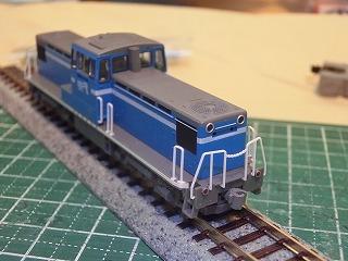 ナックルカプラー化したTOMIX「京葉臨海鉄道KD55形(103号機)」