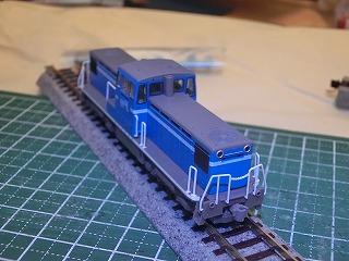 ナックルカプラー化したTOMIX「京葉臨海鉄道KD55形(103号機)」②