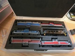 私鉄系DL&EL(6両)を収納