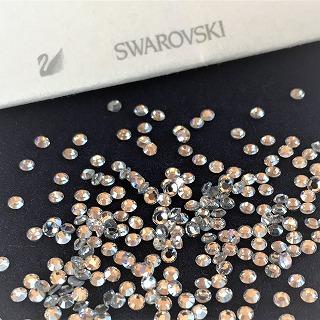 スワロフスキーデコ アルファベット オリジナル ホットフィックス 布製品へ付ける3