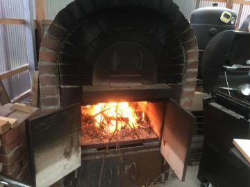 寒いのでピザ焼いて6