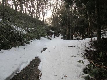 薬師山への道2