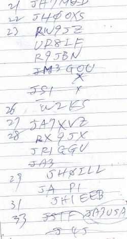 手書きログ