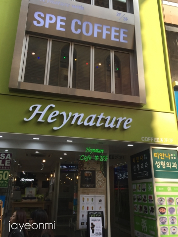 Heynature_ヘイネイチャー_明洞_2号店_2018年