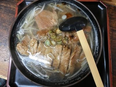 肉タンメン(上から)