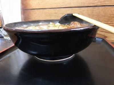 肉タンメン(横から)
