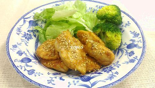 鶏胸肉のコチジャン味噌炒め
