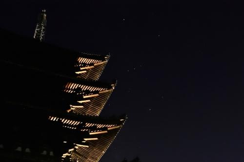 五重塔と三つ星D7T_1434