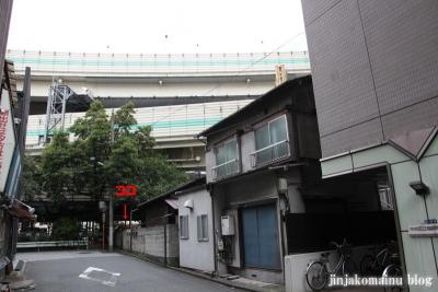 永久稲荷神社(中央区日本橋箱崎町)1
